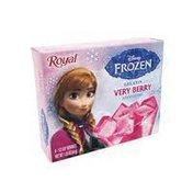 Royal Disney Frozen Very Berry Flavored Gelatin