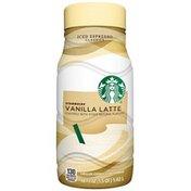 Starbucks Iced Espresso Classics Vanilla Latte Chilled Espresso Beverage