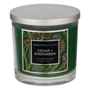 Aromascape Soy Wax Blend Candle Cedar + Evergreen