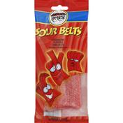 Paskesz Sour Belts, Strawberry Flavored