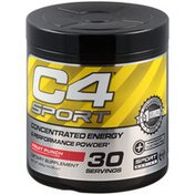 C4 Sport Concentrated Energy & Performance Dietary Supplement Powder, Fruit Punch