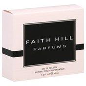 Faith Hill Eau de Toilette, Natural Spray