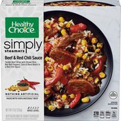 Healthy Choice Simply Steamers Beef And Red Chili Sauce