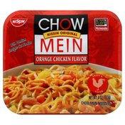 Nissin Chow Mein Noodles, Orange Chicken Flavor