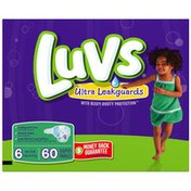 Luvs with Ultra Leakguard Family Pack Size 6 Diapers