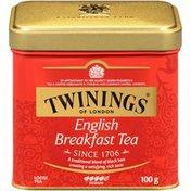 Twinings English Breakfast 100g Loose Twinings of London English Breakfast 100g Loose Tea