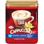 Hills Bros. Sugar Free French Vanilla Cappuccino Drink Mix
