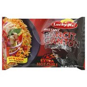 Lucky Me! Pancit Canton, Instant, Extra Hot Chili Flavor