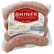 Shiner Bratwurst, Beer Brats