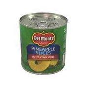 Del Monte Sliced Pineapple