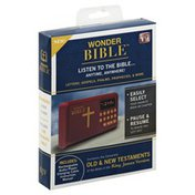 Wonder Bible Audio Player, Rechargeable