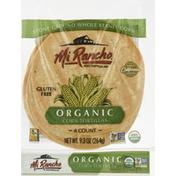 Mi Rancho Tortillas, Organic, Corn