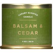 ILLUME Candle, Scented, Luxury, Balsam & Cedar