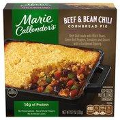 Marie Callender's Beef And Bean Chili Cornbread Pie