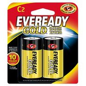 EVEREADY Alkaline C Batteries, C Cell Batteries