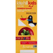 Kite Hill Yogurt Tubes, Almond & Coconut Milk, Strawberry Banana