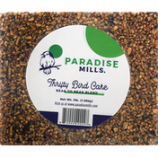 Paradise Mills Bird Cake, Thrifty, Beak to Beak Blend