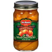 Del Monte Cling Peaches, Sliced, Extra Light Syrup