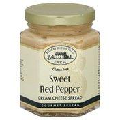 Robert Rothschild Farm Cream Cheese Spread, Sweet Red Pepper