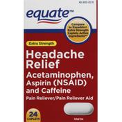 Equate Headache Relief, Extra Strength, Caplets