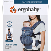 Ergobaby, Inc. Baby Carrier, All-In-One, Omni 360, 7-45 lbs