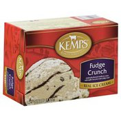 Kemps Ice Cream, Fudge Crunch, Carton