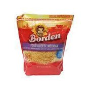 Borden Finely Shredded Four Cheese Mexican Shreds