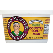 Miso Master Miso, Premium, Organic, Country Barley
