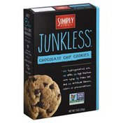 Simply Eight Cookies, Chocolate Chip, Junkless, Box
