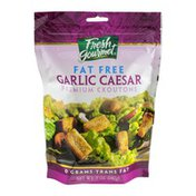 Fresh Gourmet Fat Free Premium Croutons Garlic Caesar Flavor