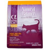 Natural Balance Alpha Cat Cat Food Chicken, Turkey Meal & Duck Formula Grain Free