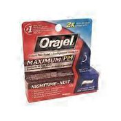 Orajel 897595 PM Extra Strength Paste Formula Toothache Pain Reliever