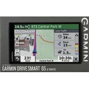 Garmin GPS Navigator, 65 & Traffic, 6.95 Inch
