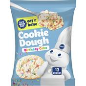 Pillsbury Cookie Dough, Birthday Cake