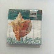 Paperproducts Design Waterside Conch Beverage Napkin