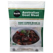 Swift Goat Meat, Australian, Bone-In, Cubes