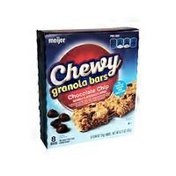 Meijer Chocolate Chip FLAVORED Chewy granola bars