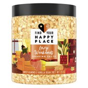 Find Your Happy Place Soaking Bath Salts Sweet Almond And Vanilla Bean