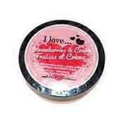 I Love Cosmetics Strawberries & Cream Body Butter