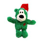 Kong Co. Assorted Small Holiday Wild Knots Bear Dog Toy