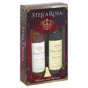 Stella Rosa Wines, Seductive And Delicious, Stella Pink, Stella Rosso, Semi-Sweet, Il Conte, 1917