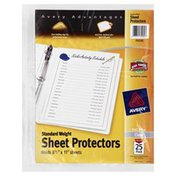 Avery Sheet Protectors, Standard Weight, 25 Pack, Wrapper