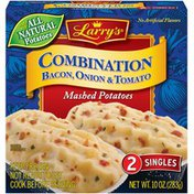 Larry's Combination Bacon Onion & Tomato Mashed Potatoes