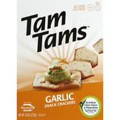 Manischewitz Snack Crackers Garlic
