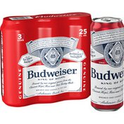 Budweiser Beer Cans