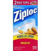 Ziploc Bags, Snack