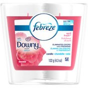 Febreze Candle Febreze CANDLE Air Freshener with Downy April Fresh (1 Count, 4.3 oz) Air Care