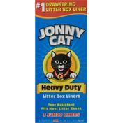 Jonny Cat Litter Box Liners, Heavy Duty, Jumbo