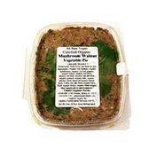 Glaser Organic Farms All Raw Vegan Certified Organic Mushroom Walnut Vegetable Pie
