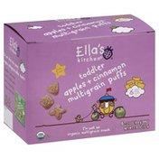 Ella's Kitchen Multigrain Puffs, Apples + Cinnamon, Toddler (from 1 Year)
